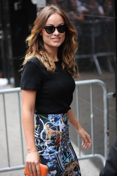 Olivia Wilde en promo à New York, le 19 août 2013.