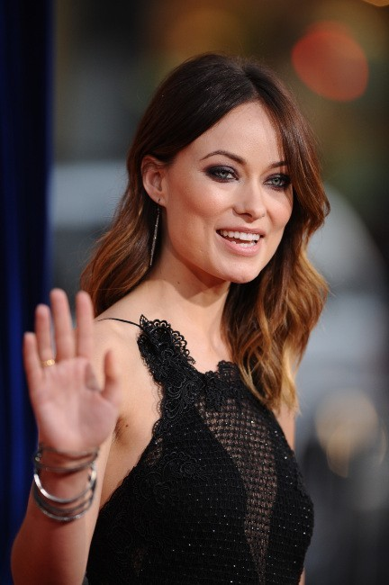 Olivia Wilde et son joli make-up