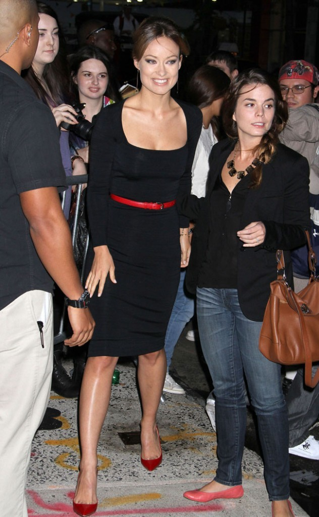 Olivia Wilde le 26 septembre 2012 à New York