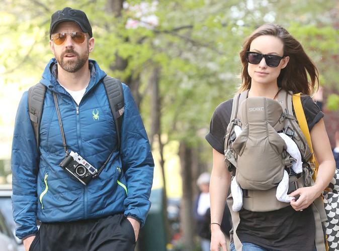 Jason Sudeikis et Olivia Wilde à New York le 1er mai 2014