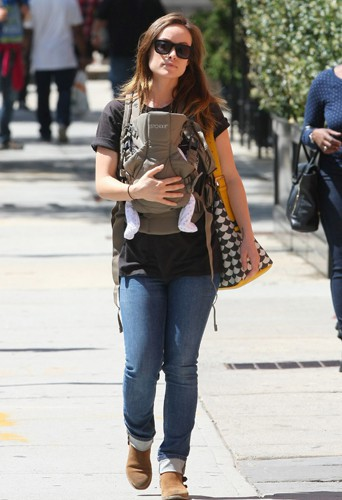 Olivia Wilde à New York le 1er mai 2014