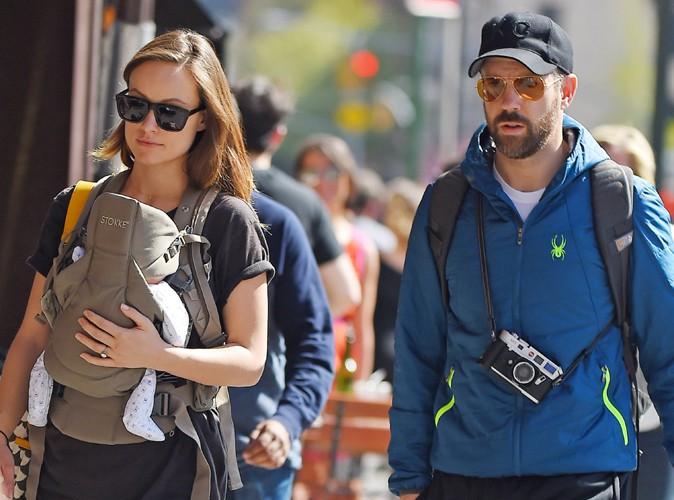 Olivia Wilde et Jason Sudeikis à New York le 1er mai 2014