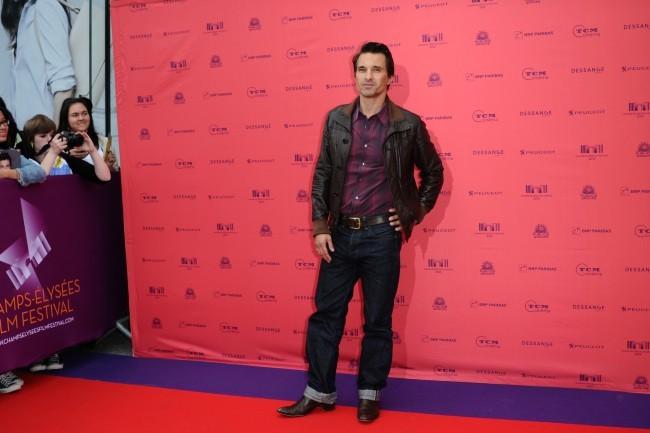 Olivier Martinez au Festival des Champs-Elysées le 12 juin 2013 à Paris