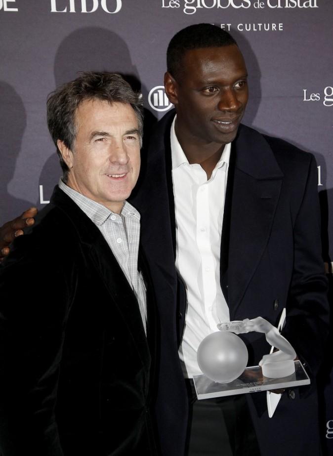 Omar et son partenaire François Cluzet !