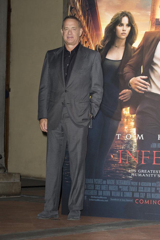 Tom Hanks à Rome le 6 octobre 2016