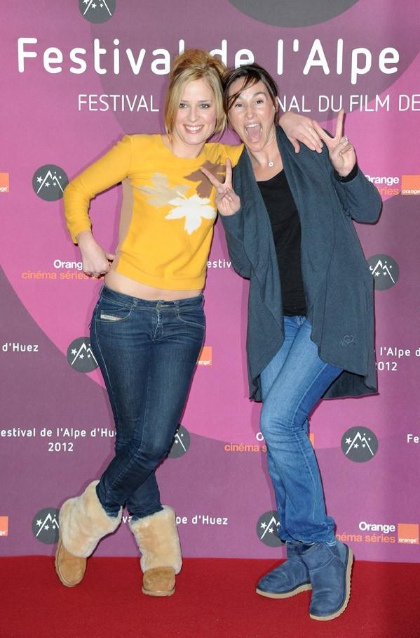 Trop cool Vanessa avec Julie Bernard !