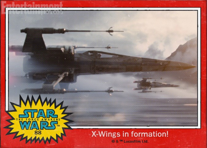 Une formation de X-Wings