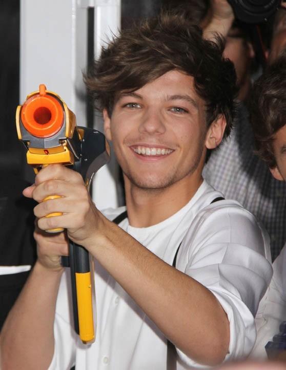 One Direction à l'avant-première de MIB III à New-York