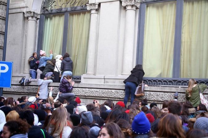 Les fans italiens de One Direction !