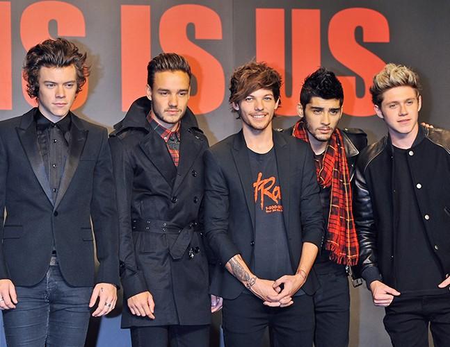 Les One Direction à Chiba le 3 novembre 2013