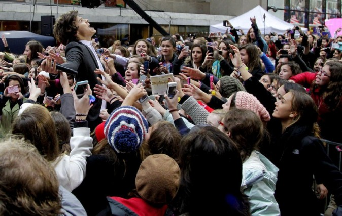 Les One Direction au Today Show à New-York le 13novembre 2012