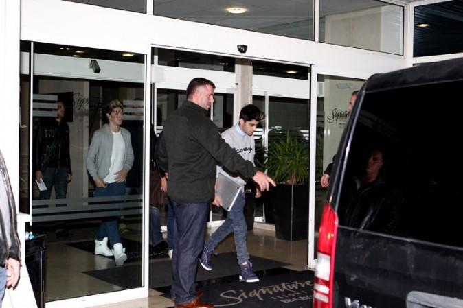 L'arrivée des One Direction à Paris le 10 octobre 2012