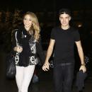 Liam Payne et sa copine Danielle Peazer à New York, le 2 décembre 2012.