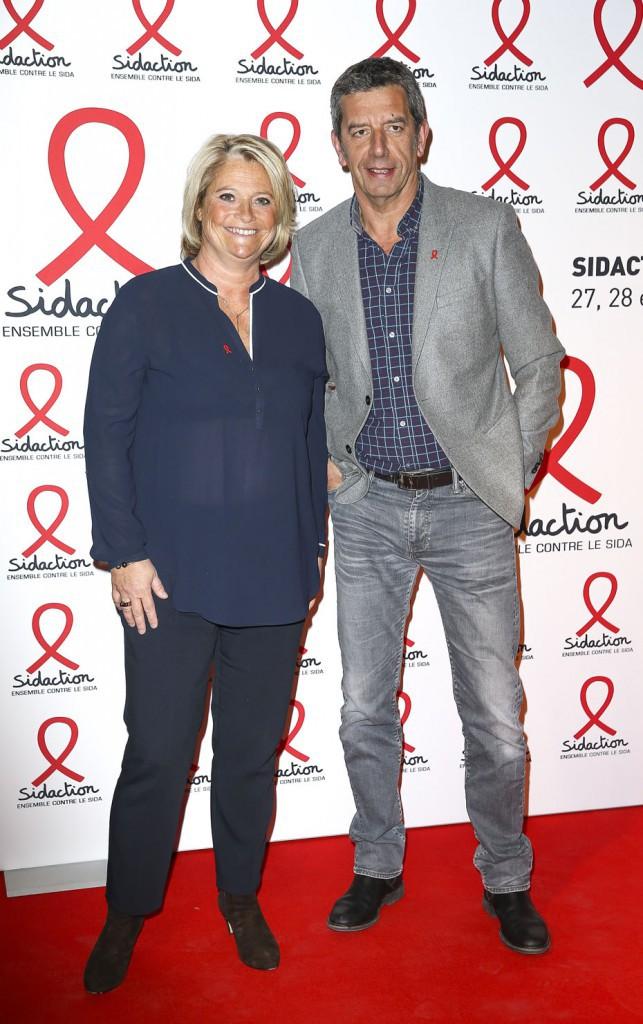 Michel Cymes et Marina Carrère-d'Encausse