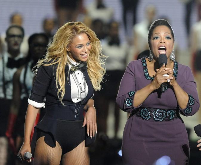 Oprah Winfrey et Beyoncé