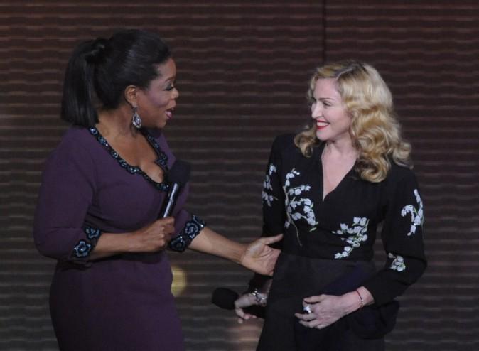 Oprah Winfrey et Madonna