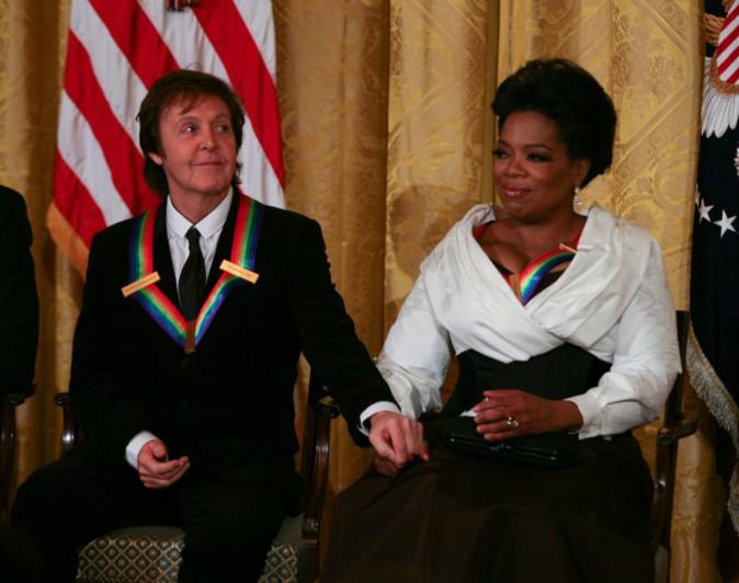 Oprah Winfrey et Paul McCartney