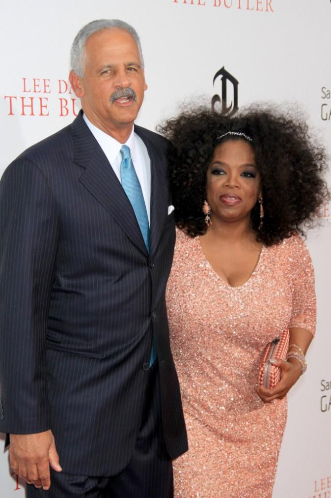 Oprah Winfrey et Stedman Graham