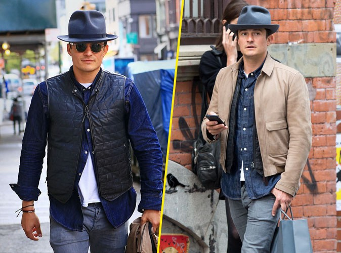 Photos : Orlando Bloom : bobo chic pour faire du shopping à New York !