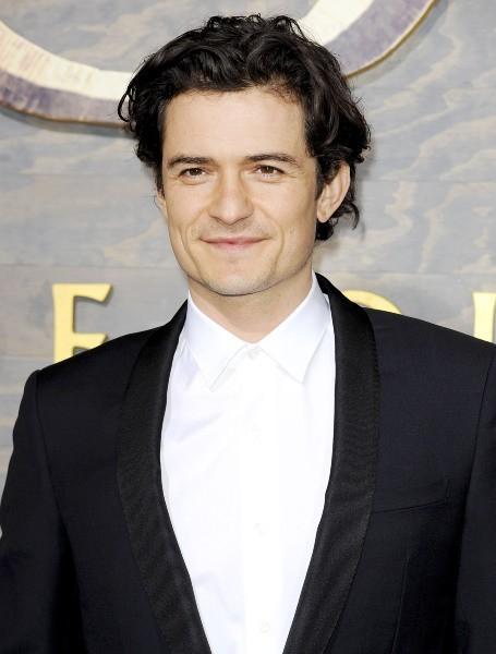 """Orlando Bloom lors de la première de """"The Hobbit : La Désolation de Smaug"""" à Hollywood, le 2 décembre 2013."""