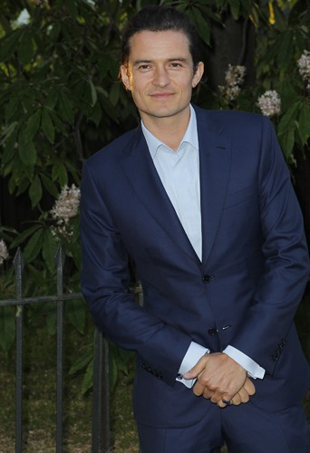 Orlando Bloom à Londres le 1er juillet 2014