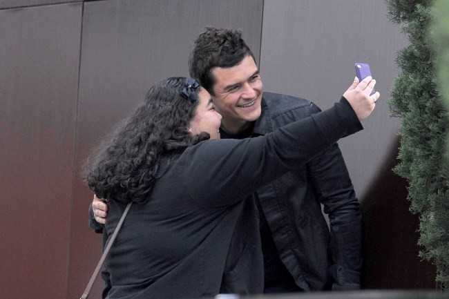 Photos : Orlando Bloom, un acteur qui aime ses fans !