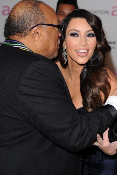 Quincy Jones craque pour Kim !