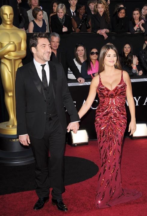 Ils ne se sont pas quittés d'une semelle lors des Oscars 2011