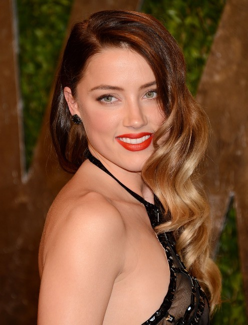 Amber Heard le 24 février 2013 à Los Angeles