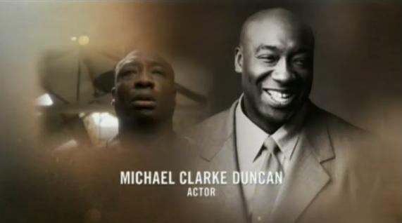 A la mémoire de Michael Clarke Duncan