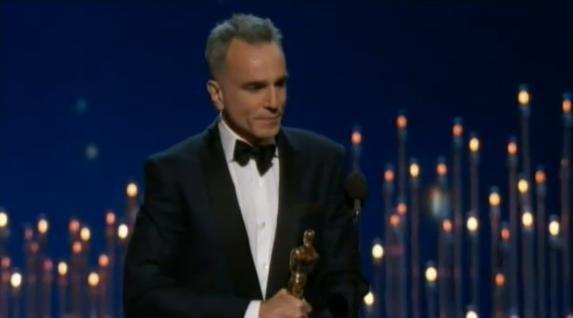Daniel Day-Lewis, Oscar du meilleur acteur