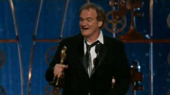 Quentin Tarantino, Oscar du meilleur scénario original pour Django Unchained
