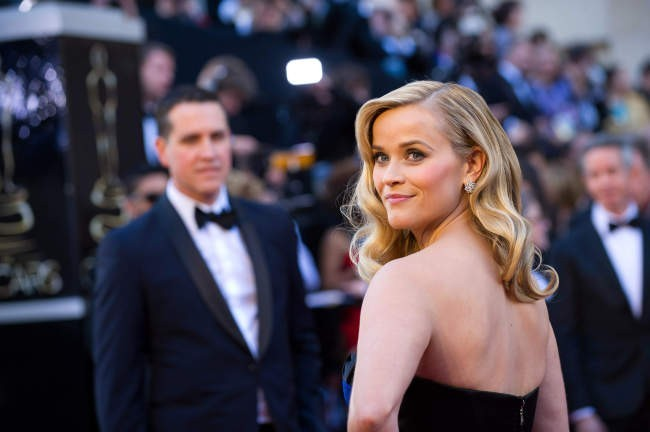 Reese Witherspoon lors de la 85e cérémonie des Oscars à Los Angeles, le 24 février 2013.