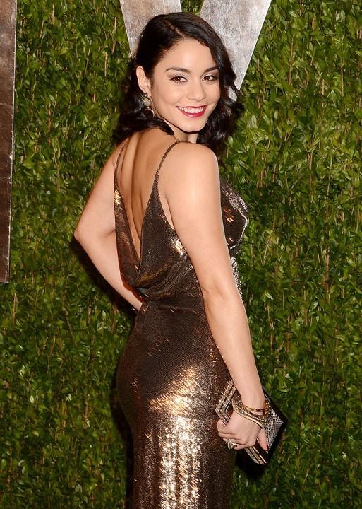 Vanessa Hudgens à la soirée Vanity Fair à West Hollywood le 24 février 2013
