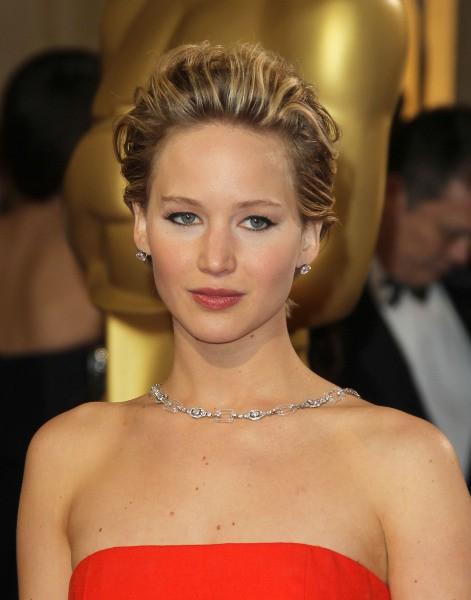 Jennifer Lawrence lors de la 86e cérémonie des Oscars à Hollywood, le 2 mars 2014.