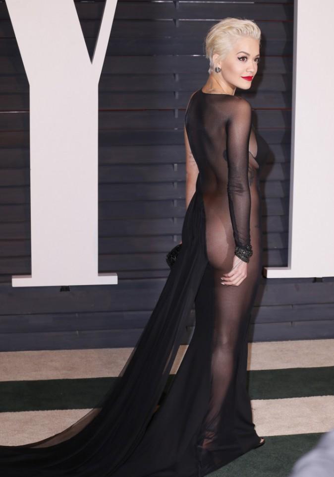 Photos : Oscars 2015 : Irina Shayk vs Rita Ora : sans sous vêtements à l'after, elles ont osé !