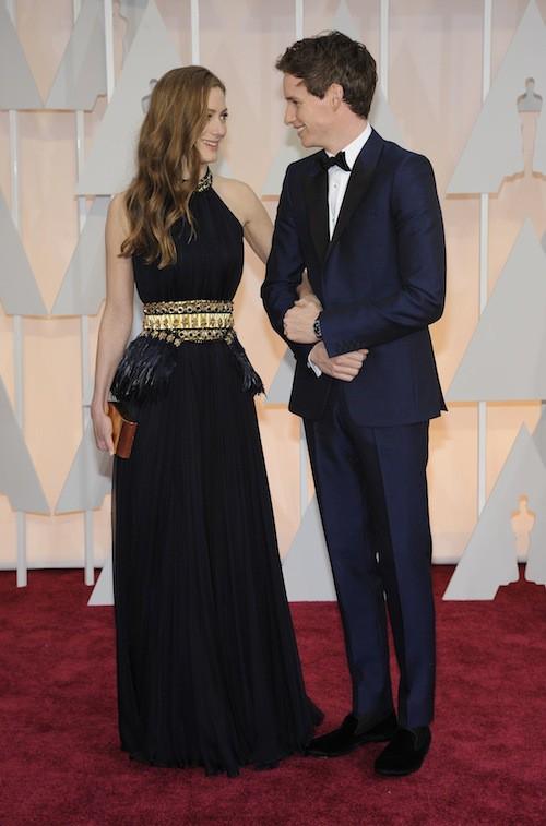 Oscars 2015 : Eddie Redmayne et sa compagne