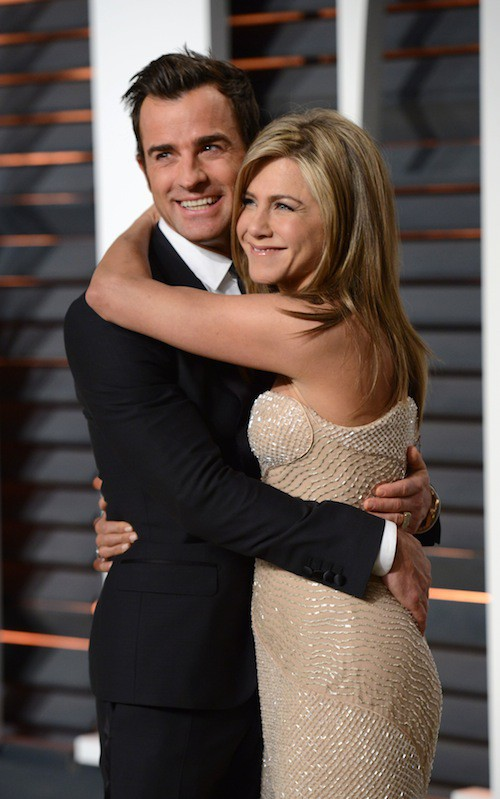 Oscars 2015 : Jennifer Aniston et Justin Theroux