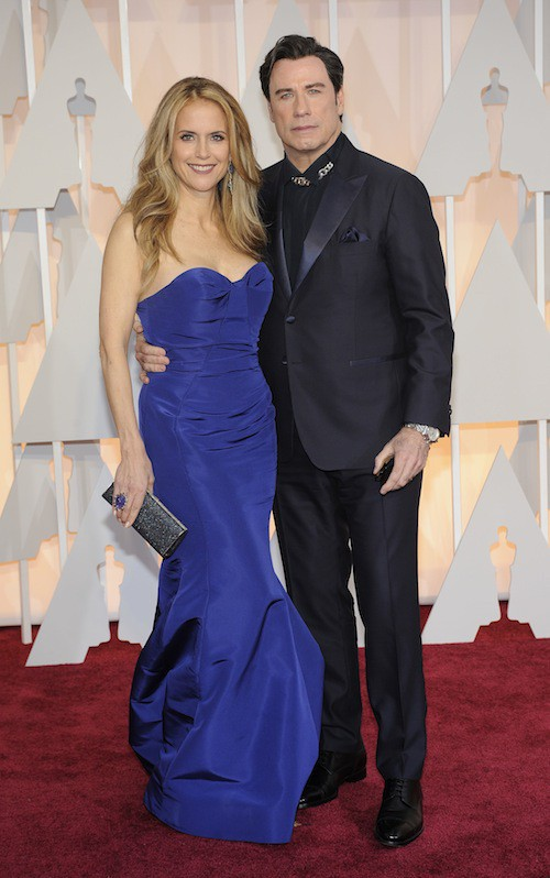 Oscars 2015 : John Travolta et Kelly Preston