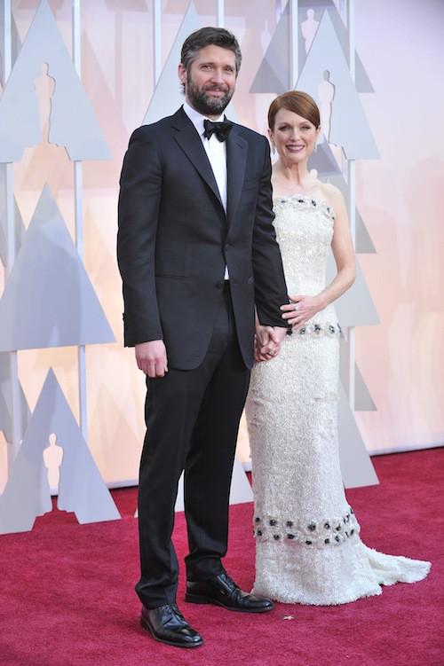 Oscars 2015 : Julianne Moore et son époux