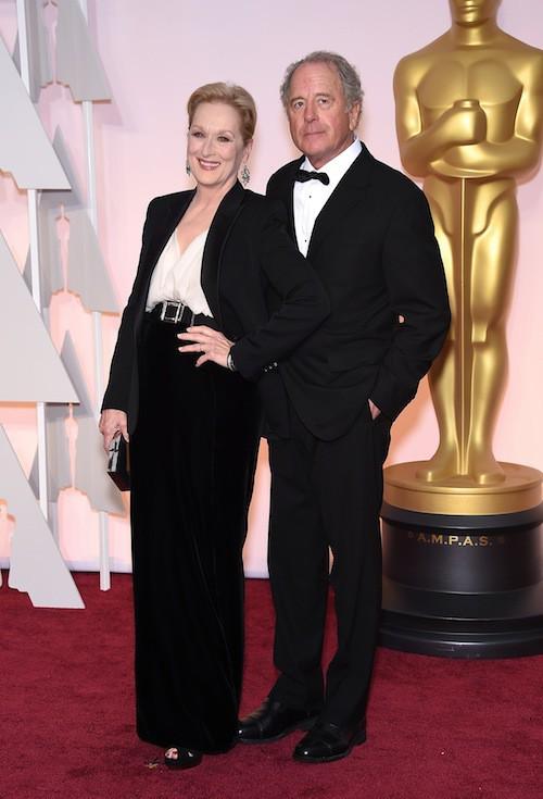 Oscars 2015 : Meryl Streep et Don Gummer