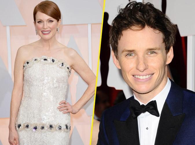 Photos : Oscars 2015 : Julianne Moore et Eddie Redmayne sacrés… Découvrez le palmarès !