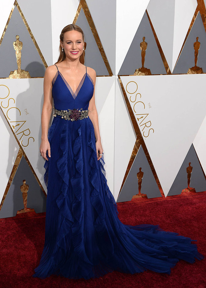 Brie Larson a été oscarisée !