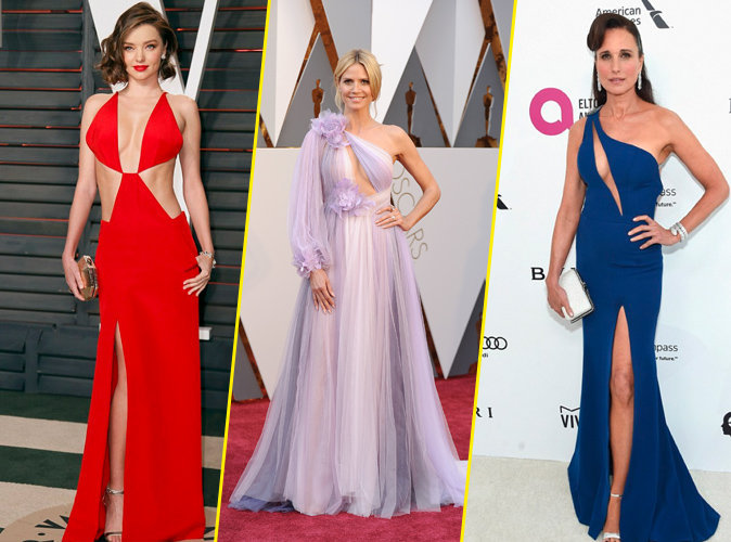 Miranda Kerr, Heidi Klum, Andie MacDowell