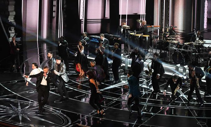 Oscars 2017 : Justin Timberlake ambiance le Dolby Theatre