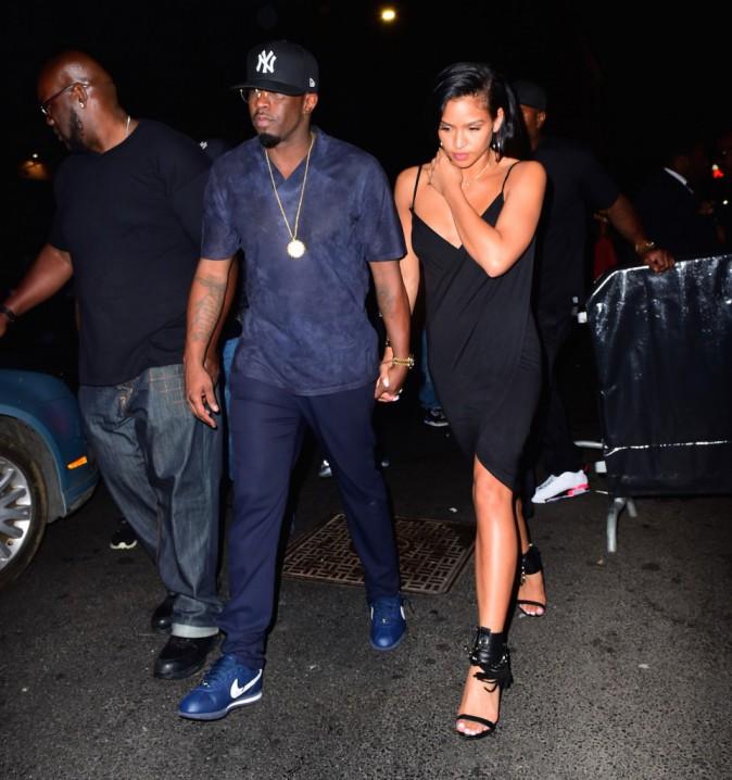 P. Diddy et Cassie à New York, le 11 août 2015