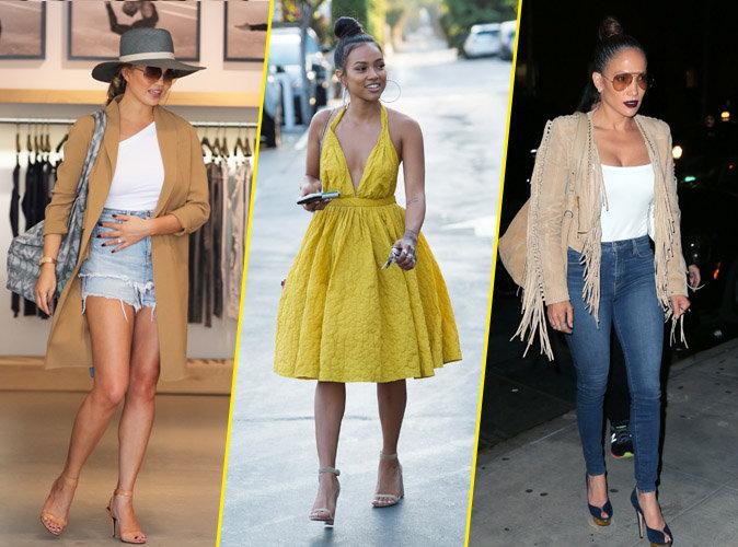 Chrissy Teigen, Karrueche Tran et Jennifer Lopez