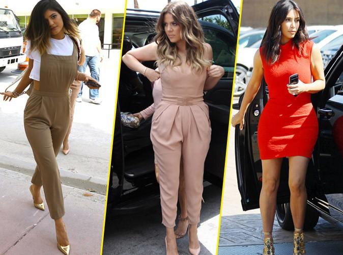 Kylie Jenner, Khloe et Kim Kardashian
