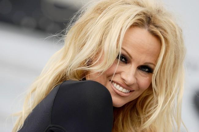 Pamela Anderson, Los Angeles, 3 octobre 2012.