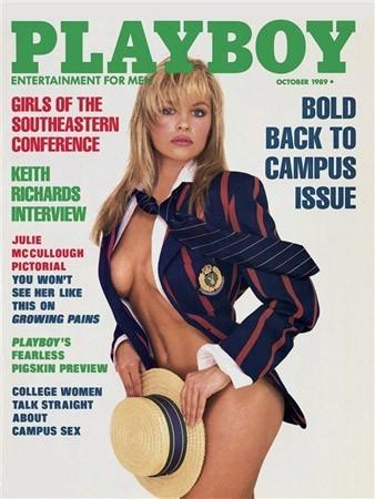 Photos : Pamela Anderson fait la couverture de Playboy en 1989